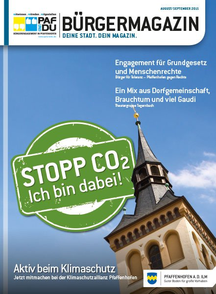 Bürgermagazin August/September 2015